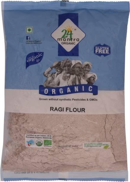 24 mantra ORGANIC Ragi Flour