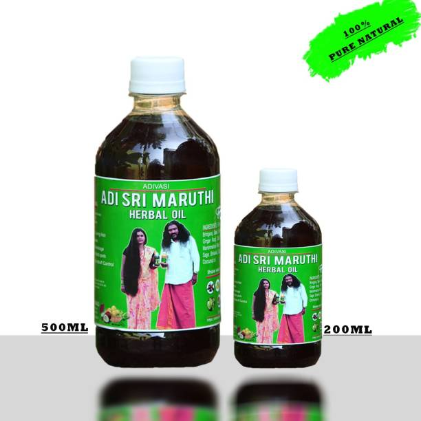 adivasi sri maruthi Oil For Stop Hair Falls And Growth  Hair Oil