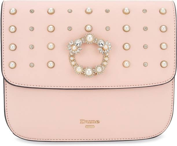 Dune London Women Pink Sling Bag