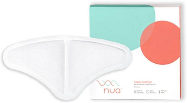 Nua Cramp Comfort - Pack of 3 heat patches for period pain Plaster & Patch
