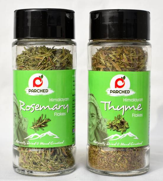 Parched Thyme Rosemary Flakes Combo