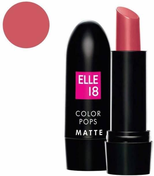 ELLE 18 Color Pops Matte Lip Color-PINK KISS-P21