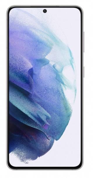 SAMSUNG Galaxy S21 (Phantom White, 128 GB)