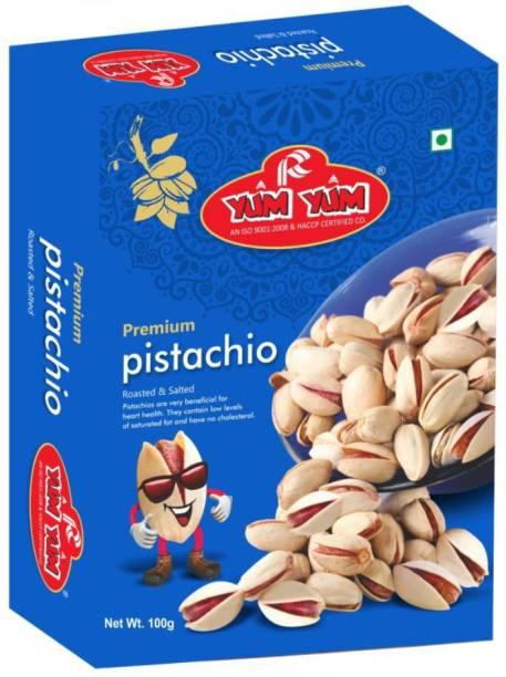 YUM YUM Premium Roasted Salted Pistachios 100g Pistachios