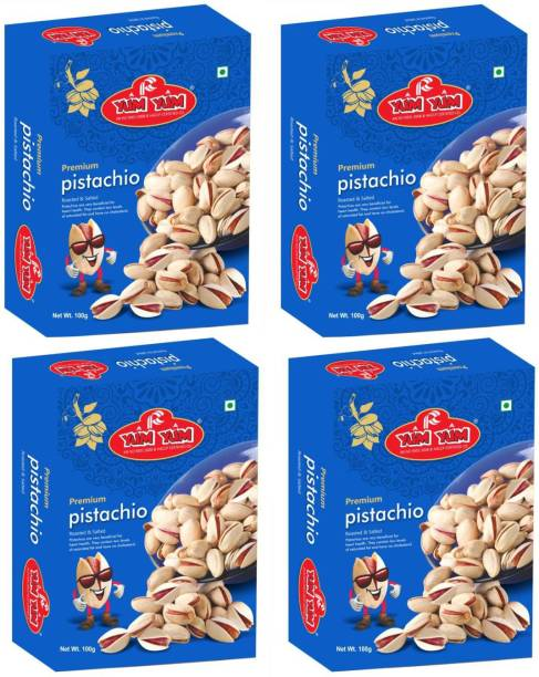 YUM YUM Premium Roasted Salted Pistachios 400g Pistachios