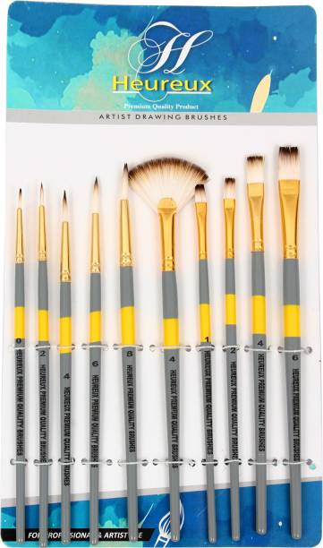 HEUREUX 10 Pcs Set Premium quality Brush