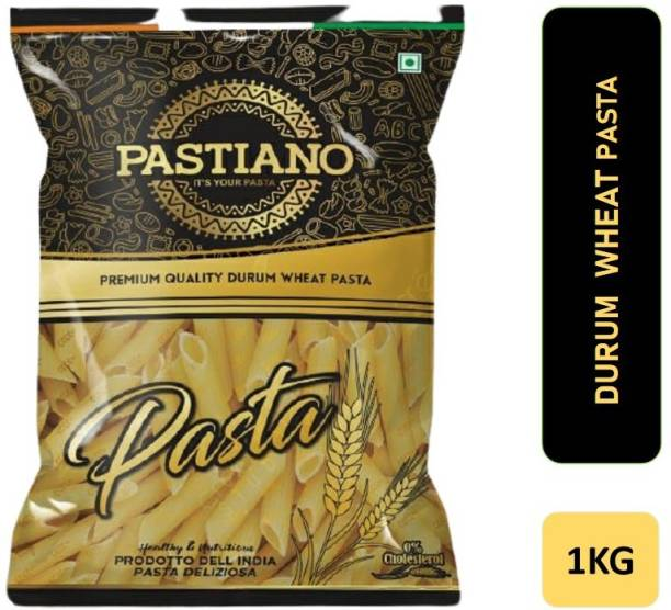 PASTIANO Penne Durum Wheat Pasta- 1 kg- Pack of 1 Penne Pasta