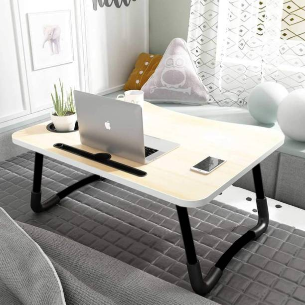 PRO365 Table for Home, Office and Study Wood Portable Laptop Table