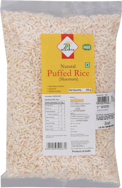 24 Mantra Natural Puffed Rice (Parboiled)