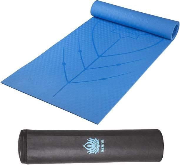 Asana Designer 6MM Anti Slip Yoga and Exercise Mat with FREE Branded Yoga Mat Bag 6 mm Yoga Mat