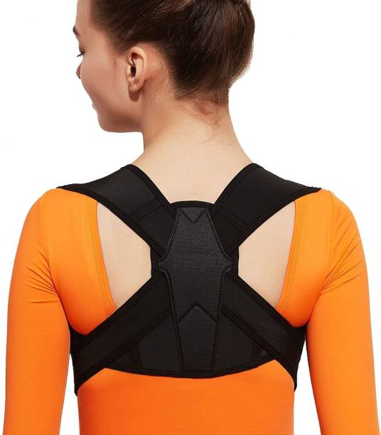 PLOVO Posture Corrector Back Brace Adjustable Shoulder Belt Back Support