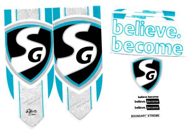 SG BX SG BOUNDARY XTREME CRICKET BAT STICKER Bat Sticker
