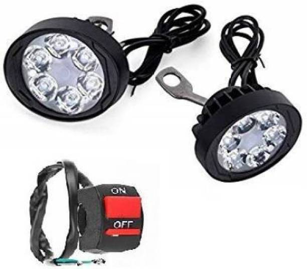 auto trends LED Mirror Light with Switch Headlight, Mirror Light, License Plate Light, Back Up Lamp Motorbike LED (12 V, 40 W)