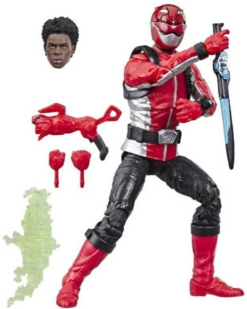 Power Rangers Power Ranger Lightning Collection 6-Inch Beast Morphers Red Ranger Collectible Action Figure with Accessories