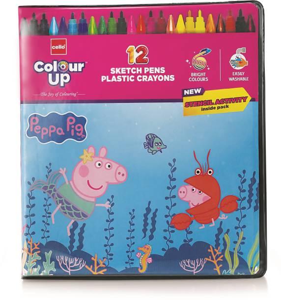 cello ColourUp Peppa Pig Colouring Kit