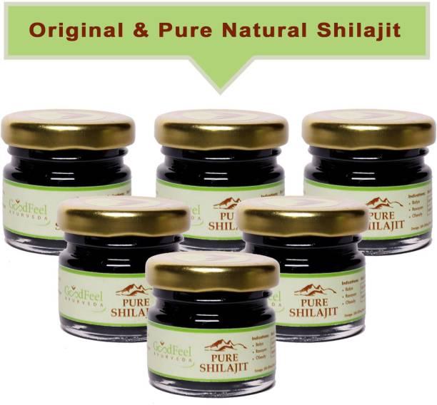 Goodfeel Ayurveda Natural & Powerful Pure Resin Raw Shilajit