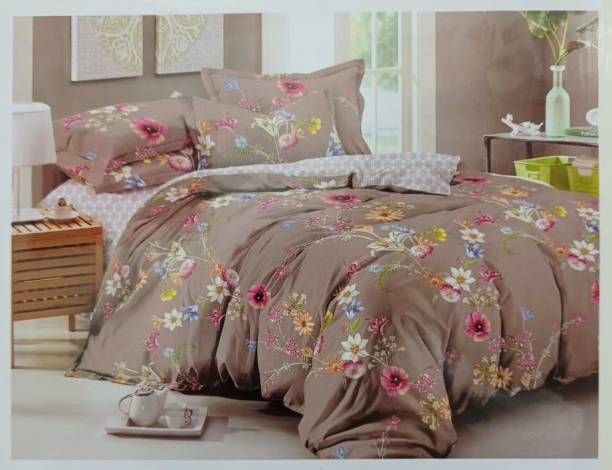 SHKC Cotton Silk Blend Bedding Set