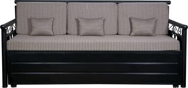 M R Steel furniture Metal Queen Hydraulic Bed