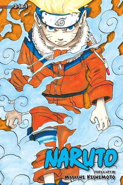 Naruto (3-in-1 Edition), Vol. 1