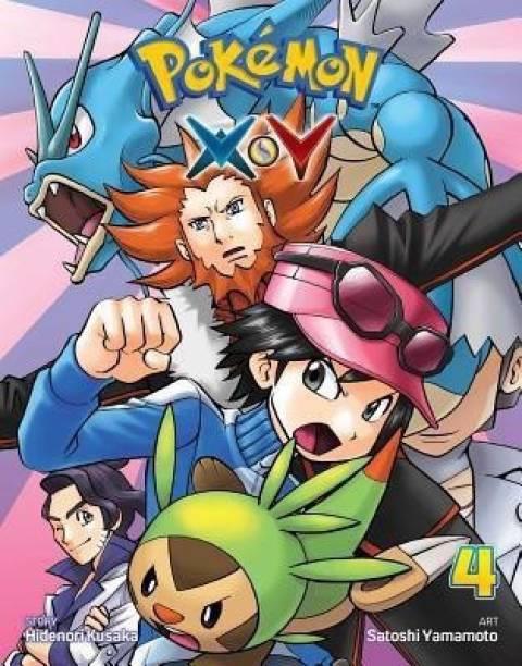 Pokemon X*Y, Vol. 4