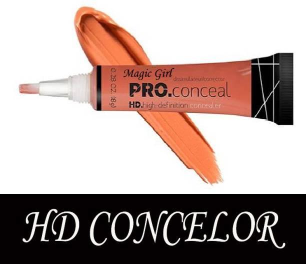 magic girl Pro Conceal Hd Concealer, ( Orange 1 )Corrector) (8GRM)  Concealer