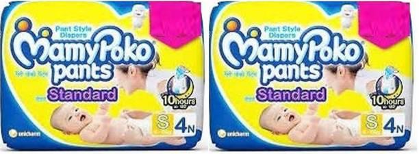 MamyPoko Poko Pants Standard S 4+4 - S