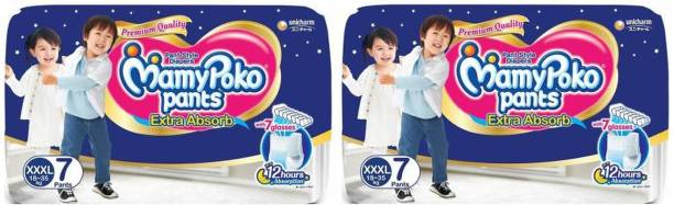 MamyPoko Poko Extra Absorb Diapers, XXXL7+7 - XXXL