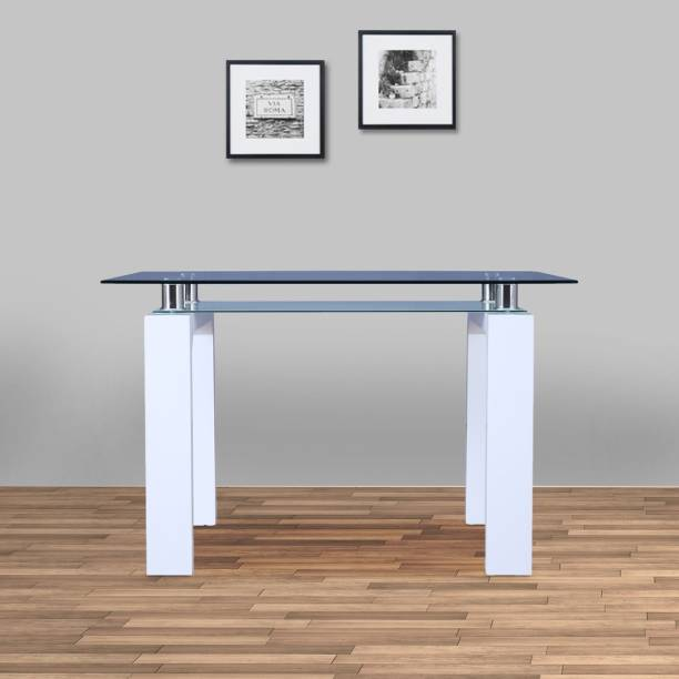 Hometown Engineered Wood 4 Seater Dining Table