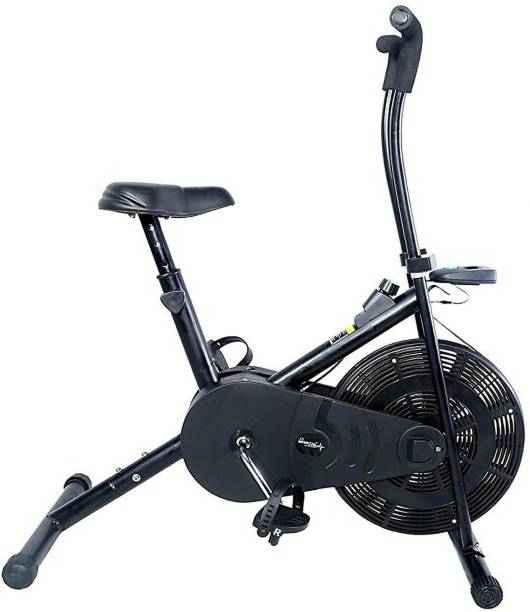 Sportal Air Bike Fix Handle Exercise Cycle for Cardio & Weight Loss Indoor Cycles Exercise Bike