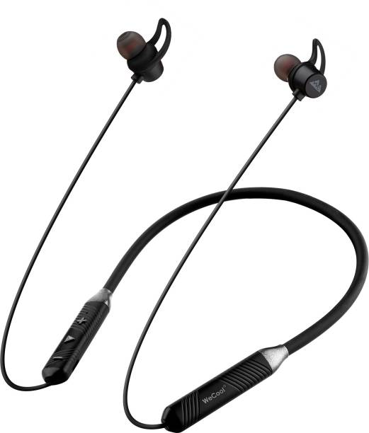 WeCool Neckband wireless headphones with 12 hours Play Time Bluetooth Headset