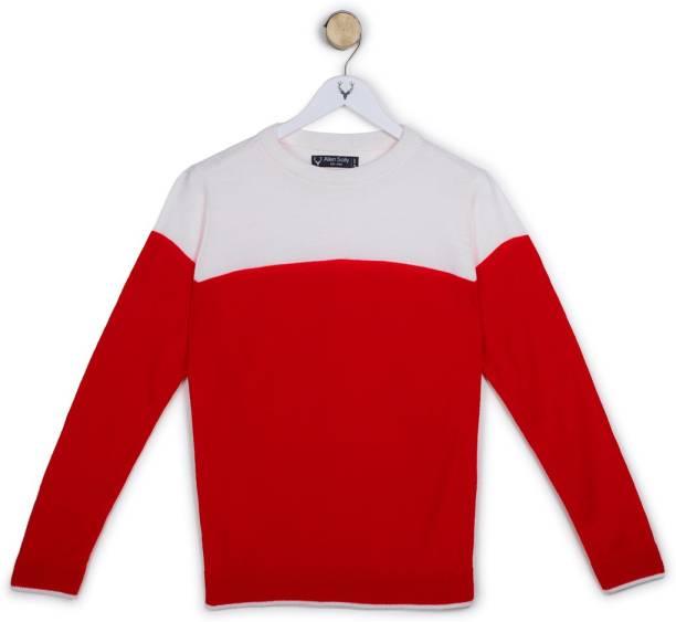 Allen Solly Full Sleeve Embellished Boys Jacket