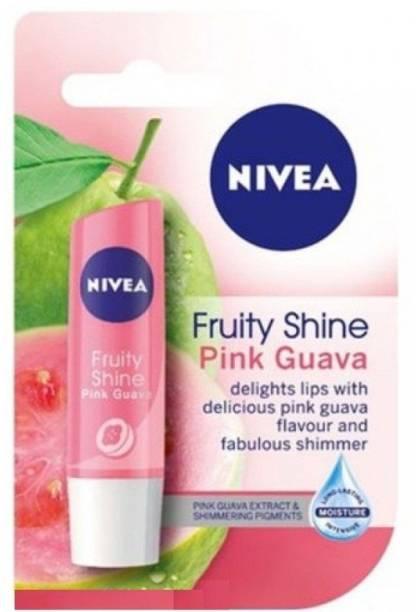 NIVEA Lip Care Fruity Shine Pink Guava pink Guava
