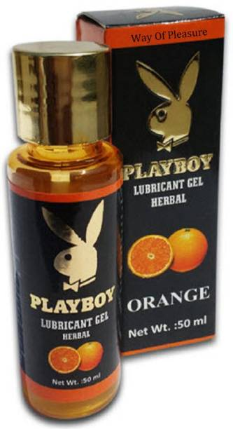 Way Of Pleasure Playboy Orange Lubricant Herbal Gel Lubricant