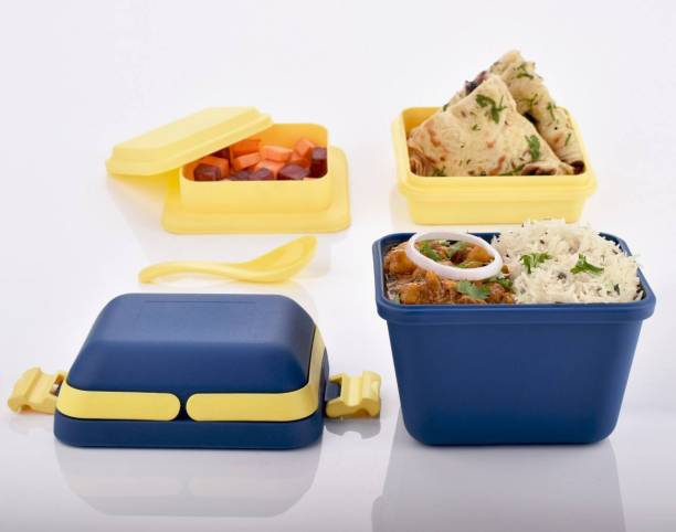 ODD M EVEN DELUXE 3 CONTAINERS PICNIC LUNCH BOX 3 Containers Lunch Box