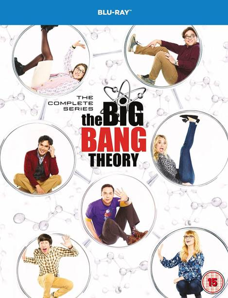 Big Bang Theory: The Complete Season 1 to 12 (24 Blu-ray + DVD Bonus Disc) (Region Free) (Slipcase + Fully Packaged Import)