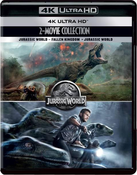 Jurassic World 2-Movie Collection: Jurassic World + Jurassic World: Fallen Kingdom (4K UHD) (2-Disc)