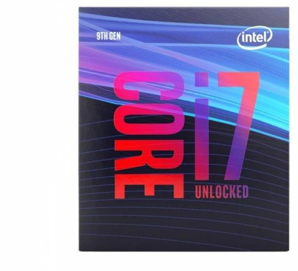 Intel Core i7-9700K 9th Generation 3.6 GHz Upto 4.9 GHz LGA 1151 Socket 8 Cores 8 Threads 12 MB Smart Cache Desktop Processor