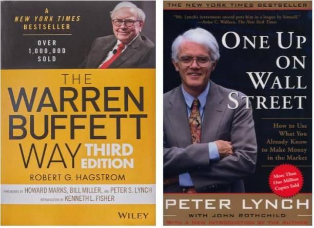 The Warren Buffett Way + One Up On Wall Street