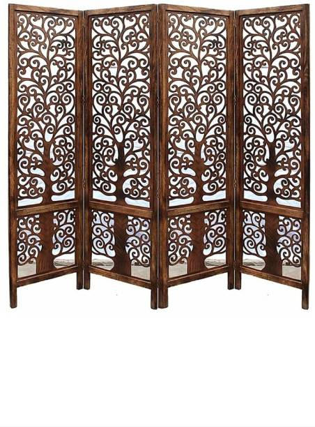 12 STARS Solid Wood Decorative Screen Partition