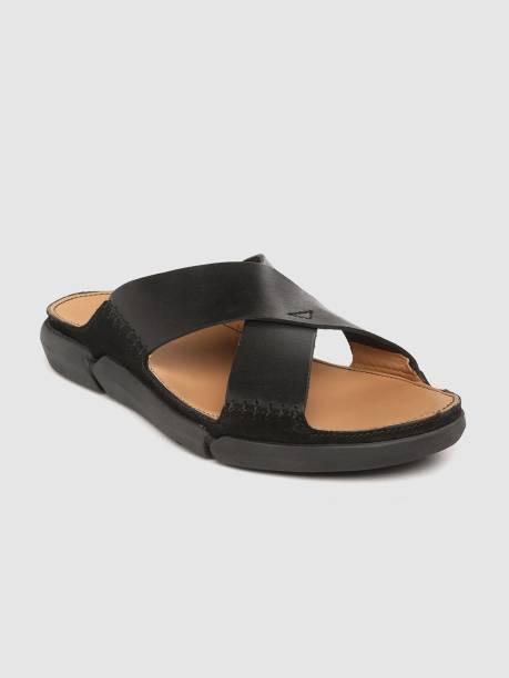 CLARKS Men Black Sandals
