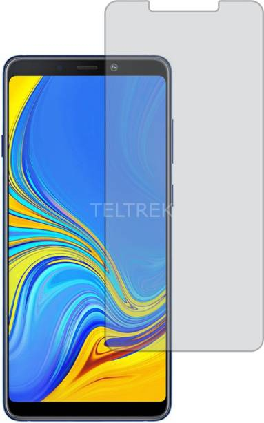TELTREK Tempered Glass Guard for SAMSUNG GALAXY A9 2018 (Matte Finish, Flexible)