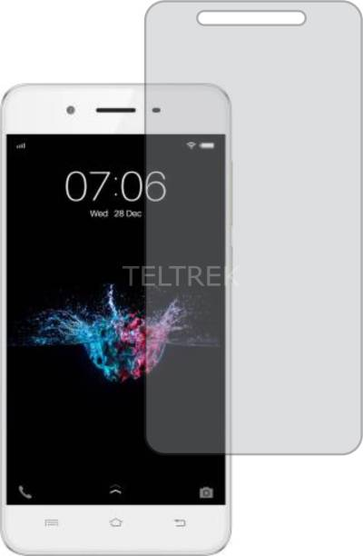 TELTREK Tempered Glass Guard for VIVO Y55L 1603 (Matte Finish, Flexible)