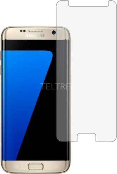 TELTREK Tempered Glass Guard for SAMSUNG GALAXY S7 EDGE (Matte Finish, Flexible)
