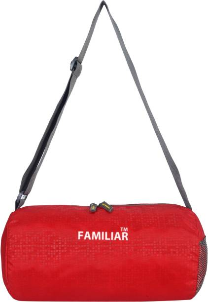 familiar Red Gym Bags & Sports Bag Unisex