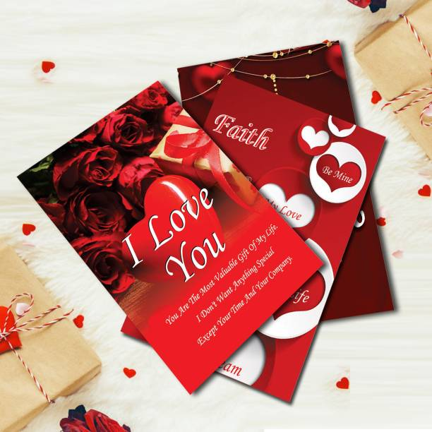 ME&YOU Beautiful Love Card Gift for Girlfriend, wife, Lover, Boyfriend, Husband for Valentine Day, Birthday, Anniversary and Special Occasion Greeting Card