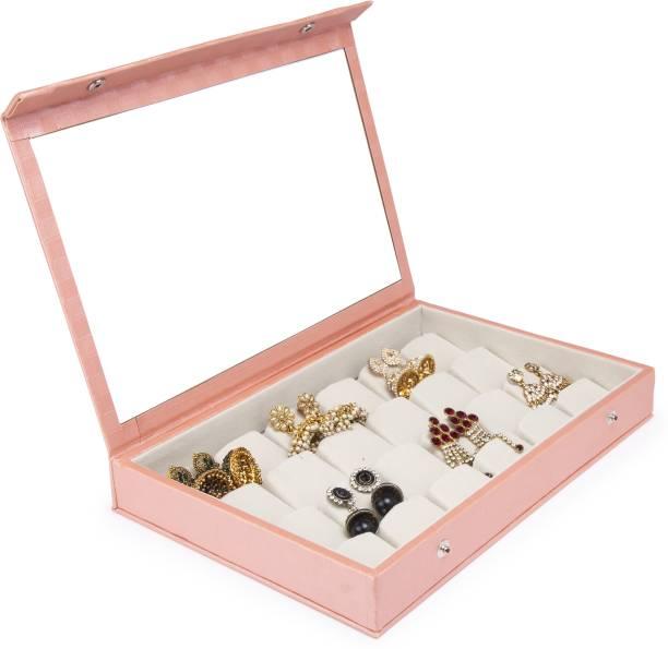 IDEAL FASHION 24 pair earring stuids storage box Vanity Box Earring Jewellery Storage Vanity Box
