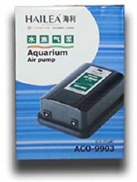 Hailea ACO-9903 Aquarium Air Pump   Double Outlet 4.2 L/min Air Aquarium Pump