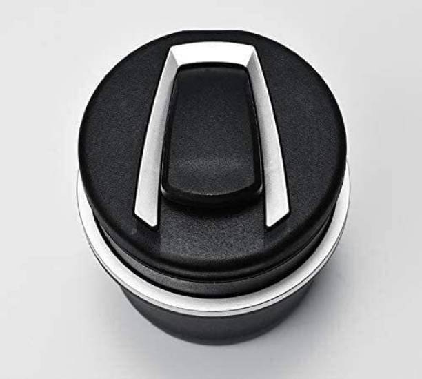 carempire Car Atray Cigarette Cup Holder Black, Silver Plastic, Stainless Steel Ashtray