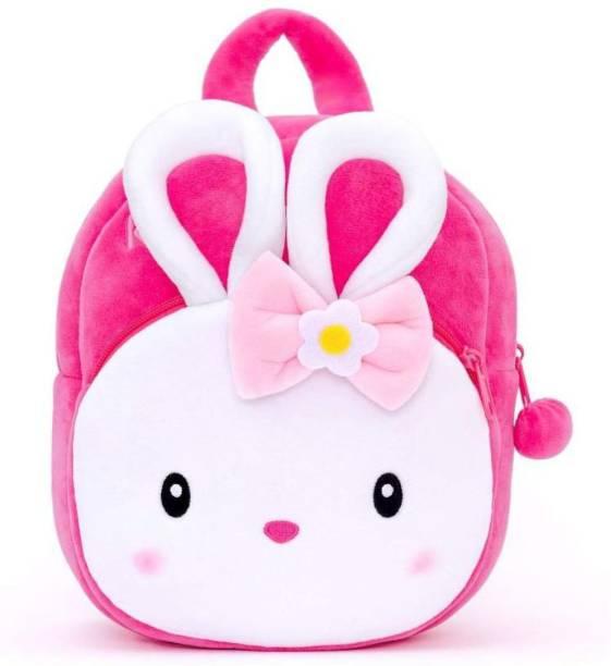proera Rabbit Pink Kids Soft Toy Bag Plush Bag