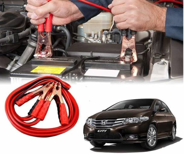 RideDeck XVI - AS - 59 - Black & Red 500A Copper Wire Auto Battery Line Emergency Cable Line Cable Clip Car Electronics Jump Starter 6.3 ft Battery Jumper Cable